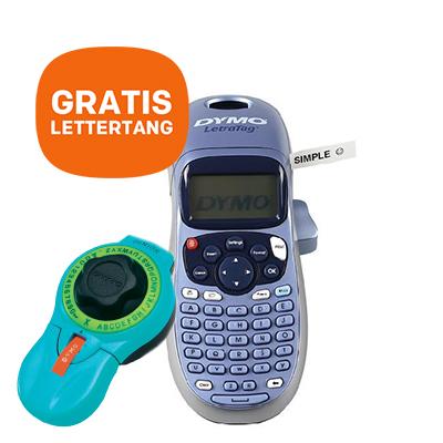 DYMO LetraTag LT-100H + GRATIS Junior Lettertang