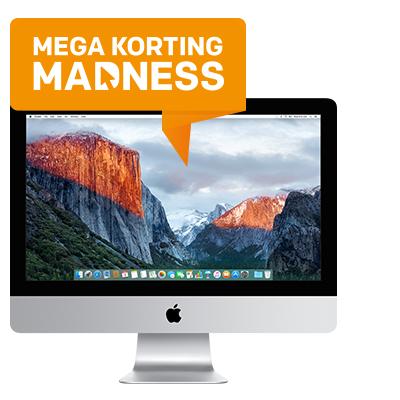 "iMac 21.5"" met 4K Retina display - MEGA Madness korting"