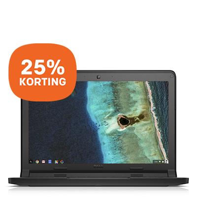 Dell 11'' Chromebook met touchscreen - 25% korting