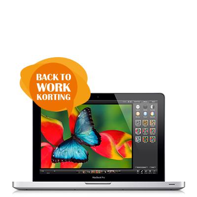 "MacBook Pro 13"" met Back to Work korting"