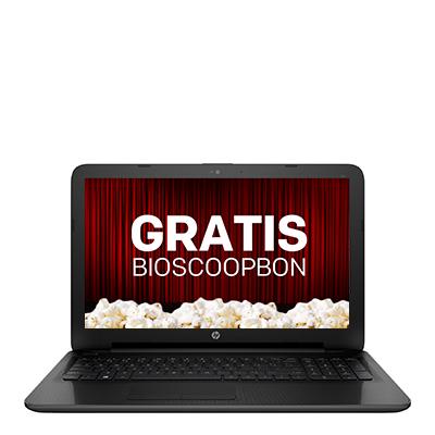 HP 255 laptop + GRATIS bioscoopbon