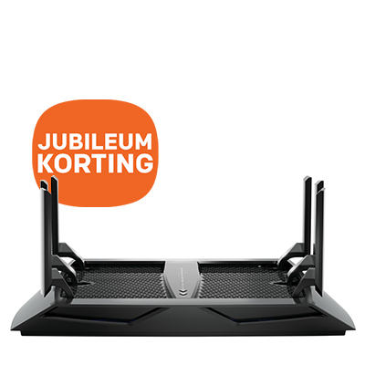 NETGEAR Nighthawk Tri-Band WiFi Router - jubileumkorting