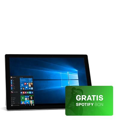 Dagaanbieding - Microsoft Surface Pro 4 128GB-+ gratis Spotify bon dagelijkse koopjes