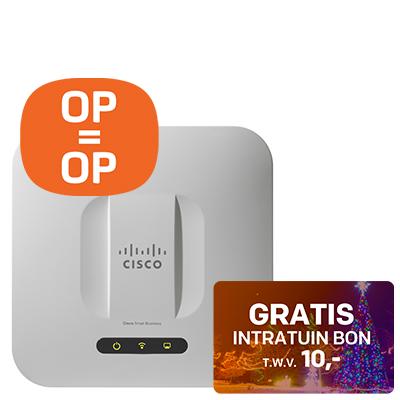 Cisco Wireless access point + Korting en gratis kerstboom bon