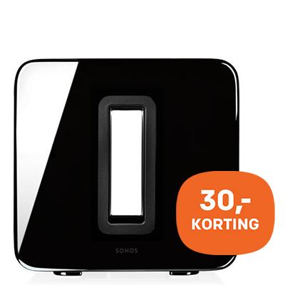Sonos SUB - 30,- korting