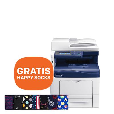 Xerox multifunctional printer + Cashback en GRATIS 2x Happy Socks