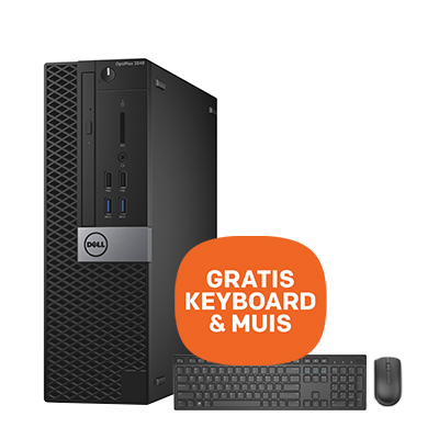 DELL OptiPlex pc | 8GB - 500GB + GRATIS toetsenbord & Muis