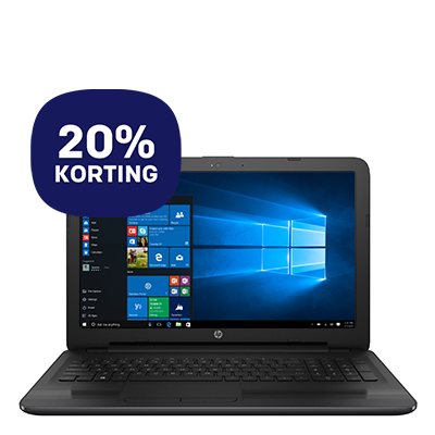 "HP laptop 250 G5  15.6"" i3 128GB - 20% korting"
