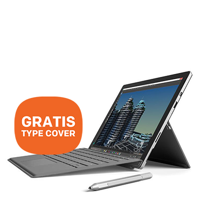 Microsoft Surface Pro 4 + GRATIS Type Cover