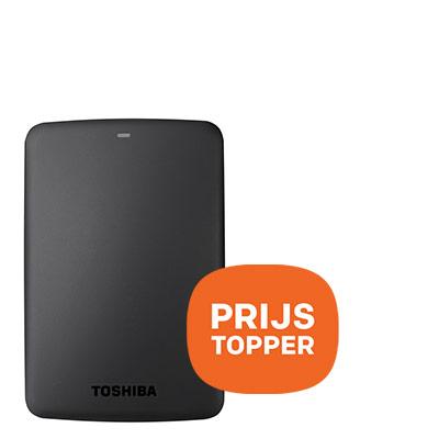 Toshiba externe harde schrijf 2TB - prijstopper
