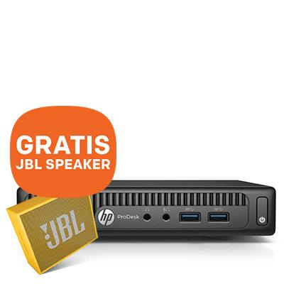 HP ProDesk 400 G2 Desktop Mini + GRATIS JBL speaker