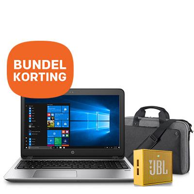 "ProBook 450 15.6"" 128GB + GRATIS HP tas en GRATIS JBL speaker"
