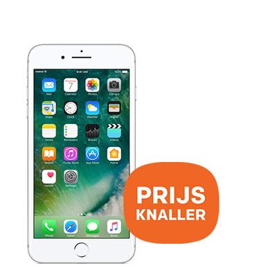 iPhone 7 Plus 32GB zilver - prijs knaller