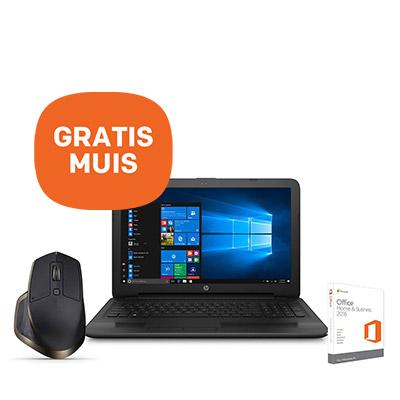 """HP 450 G4 15.6"""" Office Home & Business bundel + GRATIS Logitech muis"""