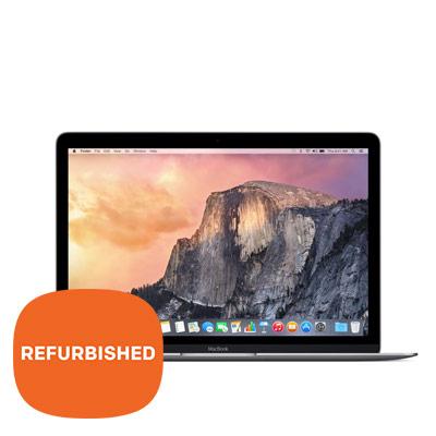 """Apple MacBook 12"""" Space Grey - Refurbished"""