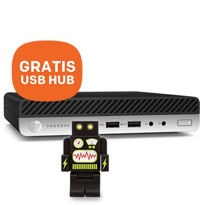HP ProDesk 400 G3 + GRATIS USB Hub