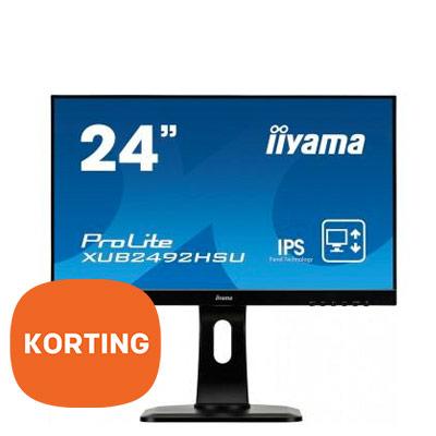 "iiyama 24"" Full HD monitor - korting"