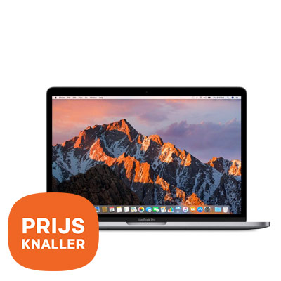 Dagaanbieding - Apple MacBook Pro 13 (2017) Touch Bar - prijsknaller dagelijkse koopjes