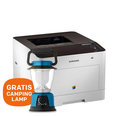 Dagaanbieding - HP Laserprinter CLP-680ND + GRATIS camping lamp dagelijkse koopjes
