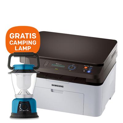 Dagaanbieding - HP Xpress SL-M2070 Multifunctionele laserprinter - GRATIS camping lamp dagelijkse koopjes