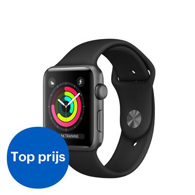 Apple smartwatch Series 3 Aluminium 42mm - top prijs