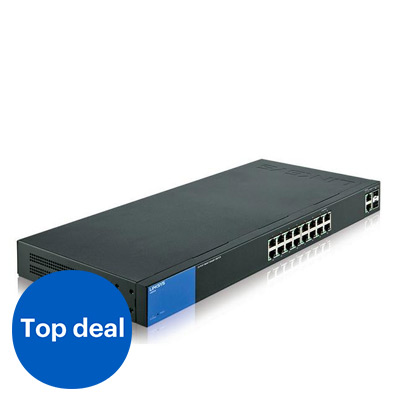 Linksys LGS318P 18-poorts switch