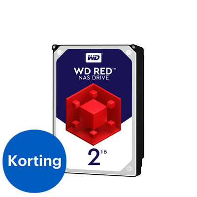 Western Digital interne harde schijf Red 2TB