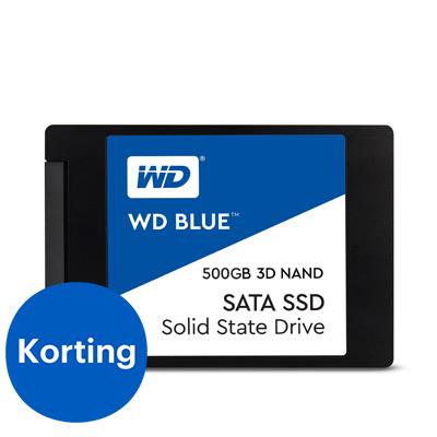 Western Digital Blue 3D NAND SATA SSD 500 GB