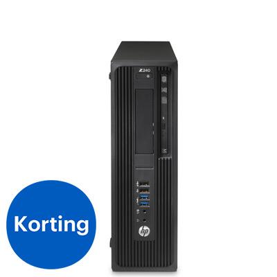 HP Z240 workstation PC in zwart
