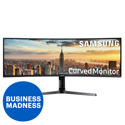 Samsung Curved Ultra-Wide Monitor 43''
