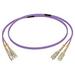 C2G 15M SC/SC OM4 LSZH FIBRE PATCH - VIOLET Fiber optic kabel