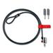 DELL Kensington ClickSafe Kabelslot - Zwart