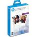 HP fotopapier: Social Media Snapshots verwijderbaar fotopapier met kleeflaag, 25 vel, 10 x 13 cm - Wit