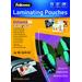 Fellowes A4, 80 micron, 100 st Laminatorhoes - Transparant