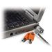 DELL Kensington - Master Key - Pak van 25 Microsaver-sloten - Kit Kabelslot - Oranje,Roestvrijstaal