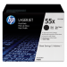 HP toner: 55X 2-pack zwart o.a. voor LaserJet M521dw & M521dn