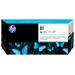 HP 81 licht-cyaan DesignJet enreiniger voor kleurstofinkt Printkop - Lichtyaan