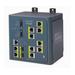 Cisco switch: 8 Ethernet 10/100, DC, Layer 3, 802.1q, QoS, IGMPv3, DHCP, 128 MB DRAM - Zwart