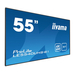"Iiyama 54.6"", 3840 x 2160, 4K UHD, 16:9, 350 cd/m², 8 ms, AMVA3 LED, matte finish, VGA, DVI, HDMI, RS-232, ....."