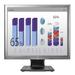 HP EliteDisplay E190i Monitor - Zilver