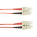 Black Box Colored Fiber OM3 50-Micron Multimode Fiber Optic Patch Cable - LSZH, SC-SC, 10-m (32.8-ft.) Fiber optic kabel