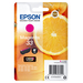 Epson inktcartridge: Singlepack Magenta 33 Claria Premium Ink