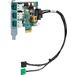 HP Engage Flex Pro 12V PUSB standaardkaart Interfaceadapter - Zwart, Groen