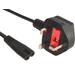 Sandberg 230V Cable UK 2 pins, 1.8 m Electriciteitssnoer