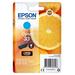 Epson inktcartridge: Singlepack Cyan 33 Claria Premium Ink - Cyaan