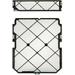 HP Z2 SFF G4 stoffilter en rand Computerkast onderdeel - Zwart, Wit