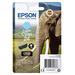 Epson inktcartridge: Singlepack Light Cyan 24 Claria Photo HD Ink - Lichtyaan